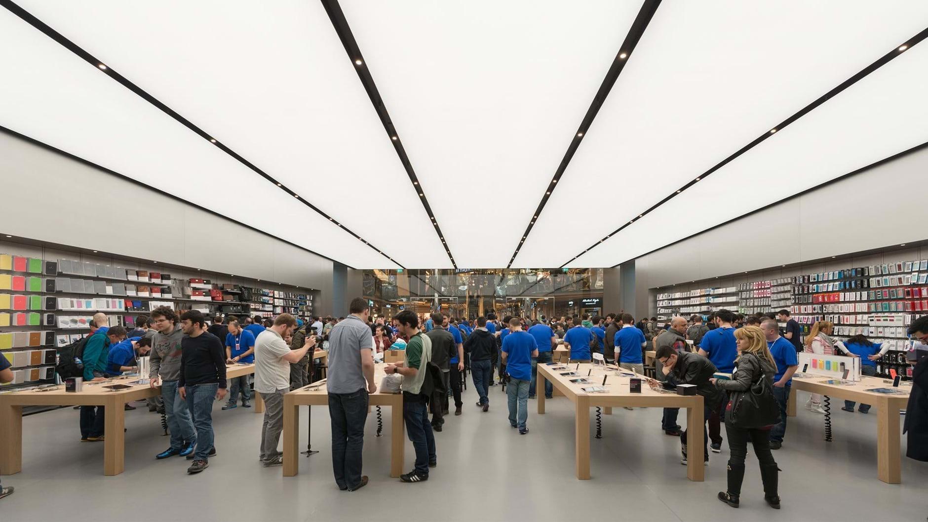 10 самых эффектных бутиков Apple (галерея 3, фото 1)