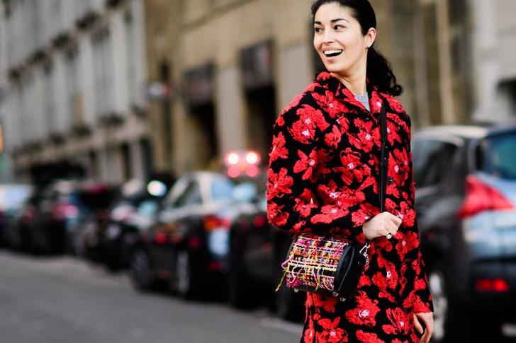 Самые модные люди на улицах Парижа (фото 43)