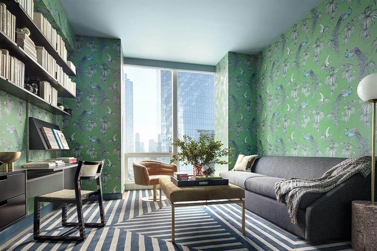 Зеленый цвет в интерьере: 25+ проектов (галерея 0, фото 1)