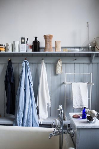 Голубая мечта: дом шведской художницы Гуннель Салин (фото 21.2)