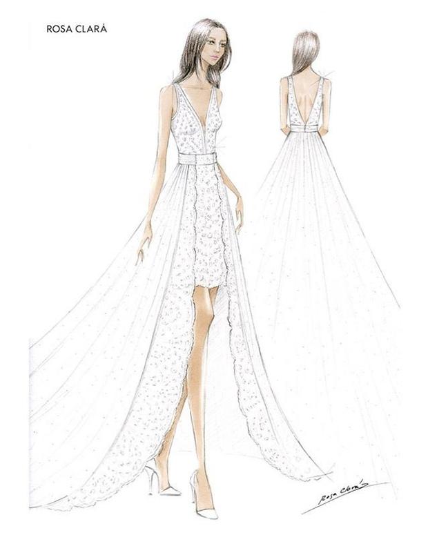 Сбились со счета: третье свадебное платье новой принцессы Монако (фото 3)