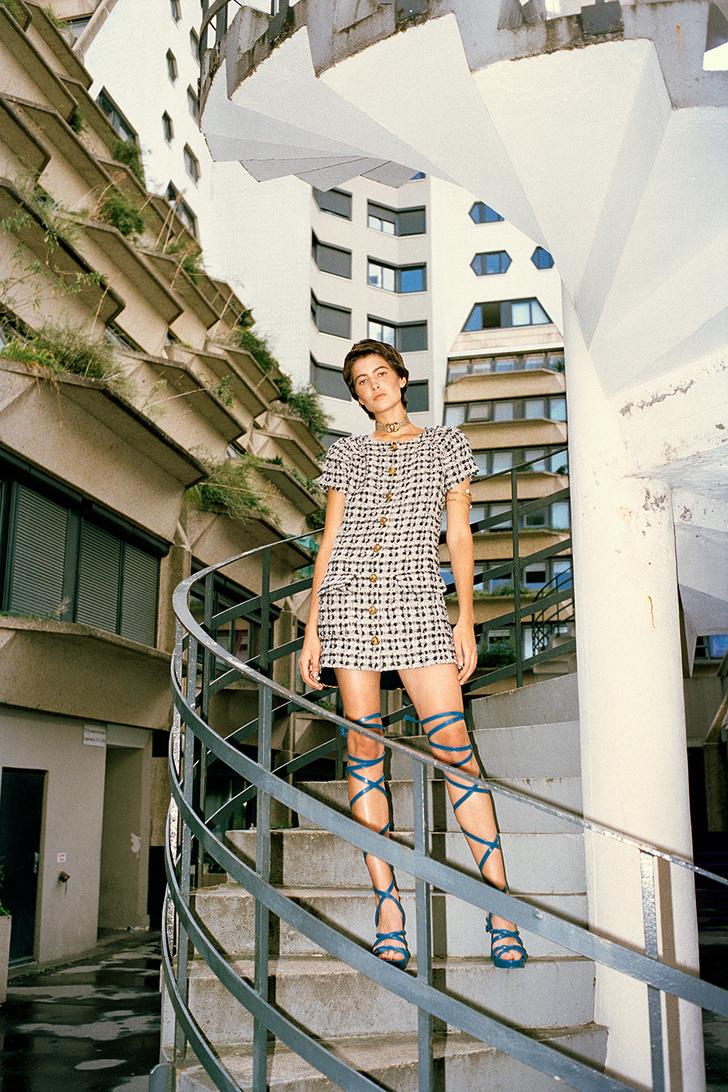 Тренд: маленькое нечерное платье — новые правила Великой Мадемуазель фото [4]