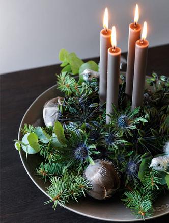 Сервировка новогоднего стола 2019: советы флориста и декоратора (фото 18.2)