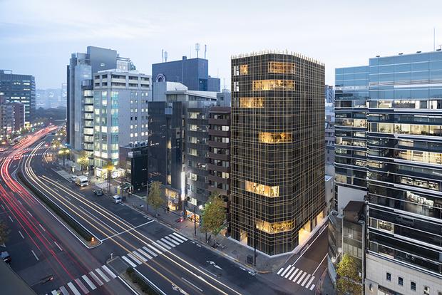 Nendo + Ikawaya Architects: офисное здание в Токио (фото 0)