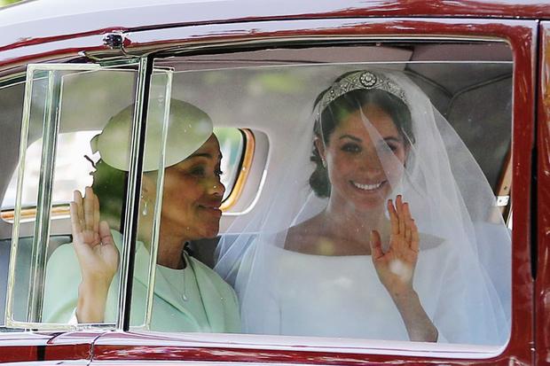 Свершилось! Принц Гарри и Меган Маркл стали мужем и женой (фото 2)