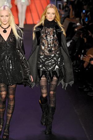 Показы мод Anna Sui Осень-зима 2011-2012 | Подиум на ELLE - Подиум - фото 2318