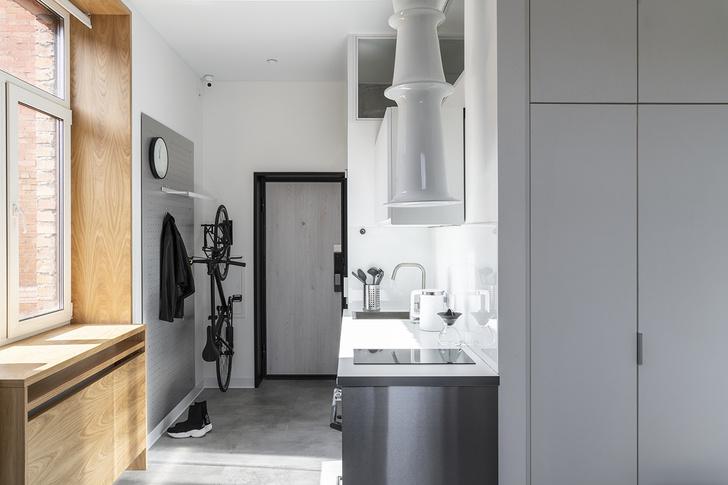 Квартира 18 м², где есть все необходимое для жизни (фото 0)