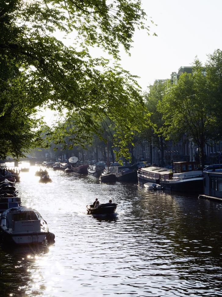 Большое плавание: квартира в Амстердаме (фото 0)