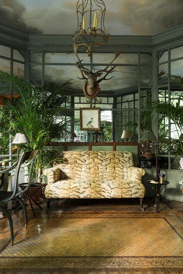 Сад Пьера Берже, партнера и сподвижника Ива Сен-Лорана фото [6]