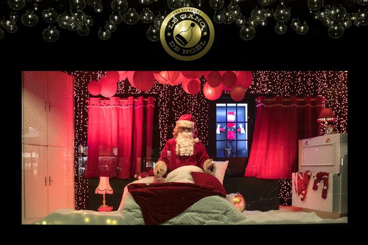 Зимняя сказка: лучший рождественский декор витрин фото [2]
