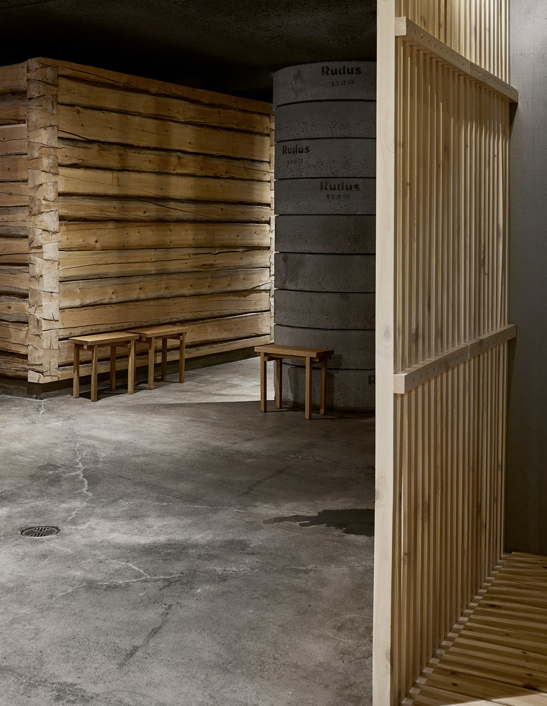Дуб, бетон и скандинавский дизайн: сауна по проекту Studio Puisto (галерея 4, фото 5)