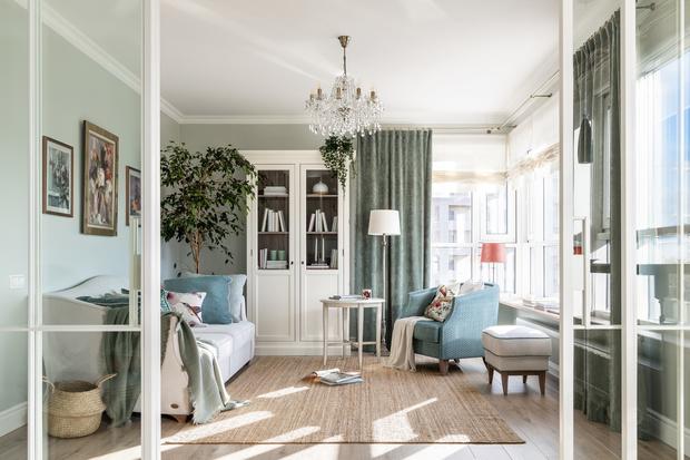 Нежность бытия: квартира 69 м² в Санкт-Петербурге (фото 0)