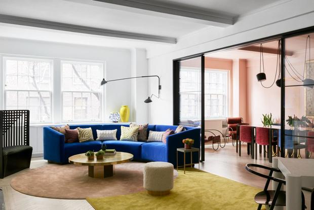Яркая квартира 260 м² на Парк-авеню в Манхэттене (фото 5)