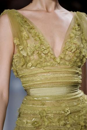 Показ Elie Saab коллекции сезона Весна-лето 2011 года Haute couture - www.elle.ru - Подиум - фото 216989