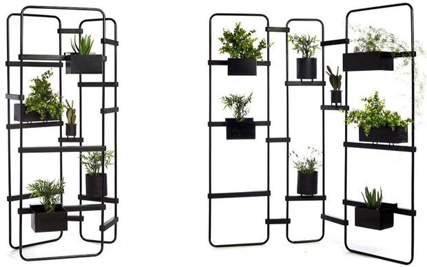Кашпо и мебель для домашних растений (фото 17)