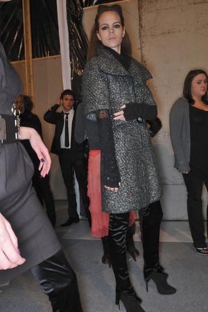 Показ Karl Lagerfeld коллекции сезона Осень-зима 2009-2010 года prêt-à-porter - www.elle.ru - Подиум - фото 99123