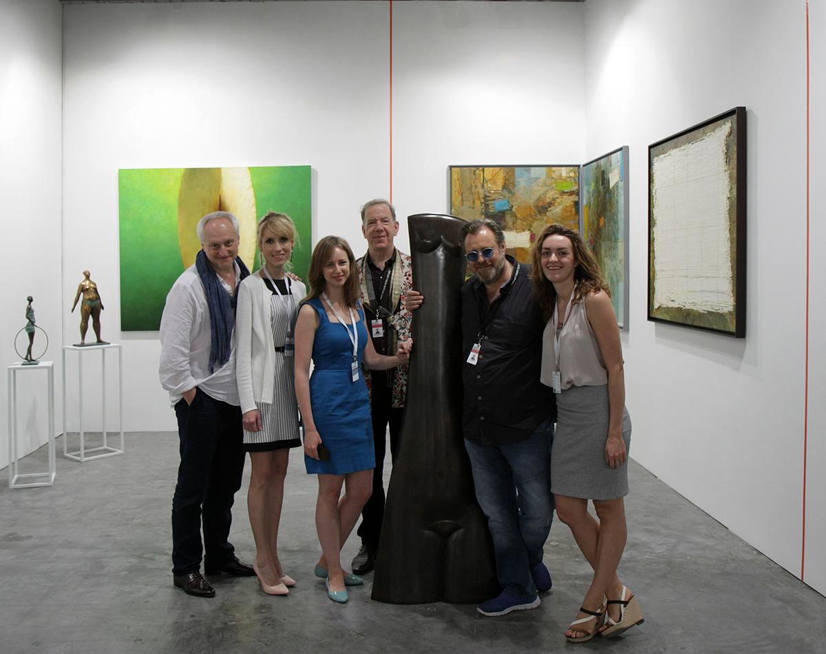 Галерея VS Unio на выставке Art Stage Singapore 2016   галерея [1] фото [1]