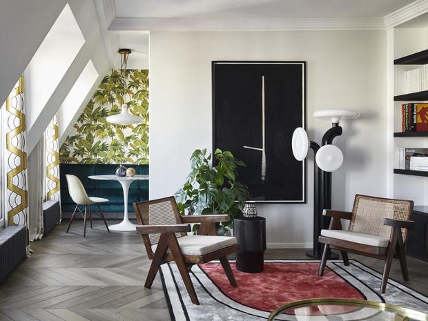 Парижская квартира дизайнера Кристофа Пойе (фото 0)