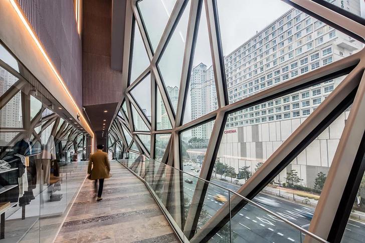 Новый торговый центр по проекту ОМА в Южной Корее (фото 10)