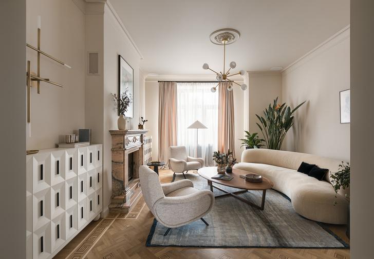 Квартира в стиле Мидсенчури (фото 0)