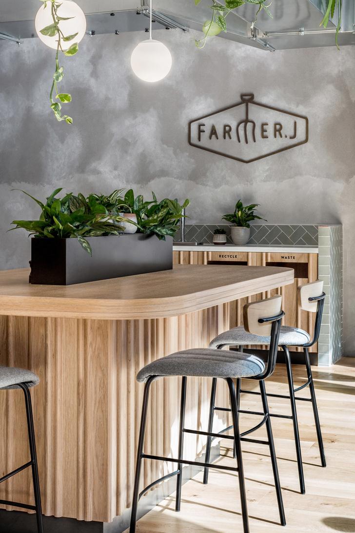 Уютный ресторан Farmer J в Лондоне (фото 0)
