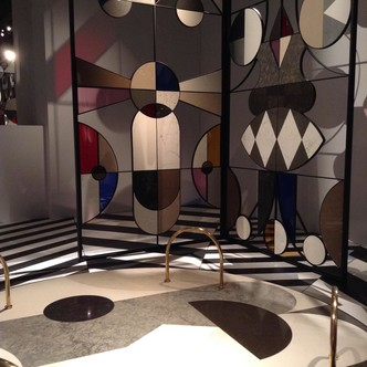инсталляция Хайме Айона для Caesarstone в Pallazzo Serbelloni