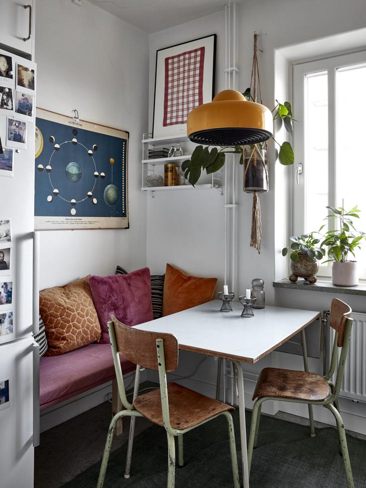 Квартира с винтажной мебелью в Стокгольме (фото 16)