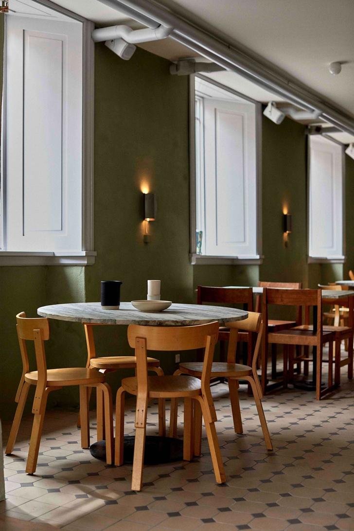 Ресторан в Копенгагене в духе французских бистро (фото 4)