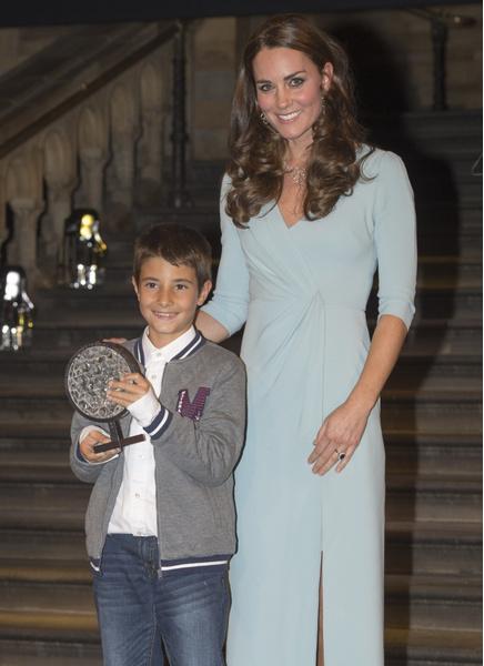 Кейт Миддлтон на церемонии Wildlife Photograhpy of the Year