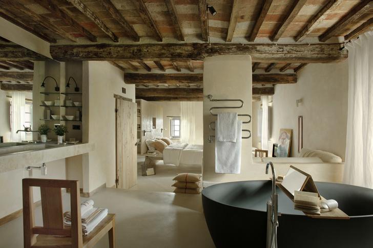 Monteverdi Hotel: бутик-отель в старинной тосканской глубинке (фото 4)