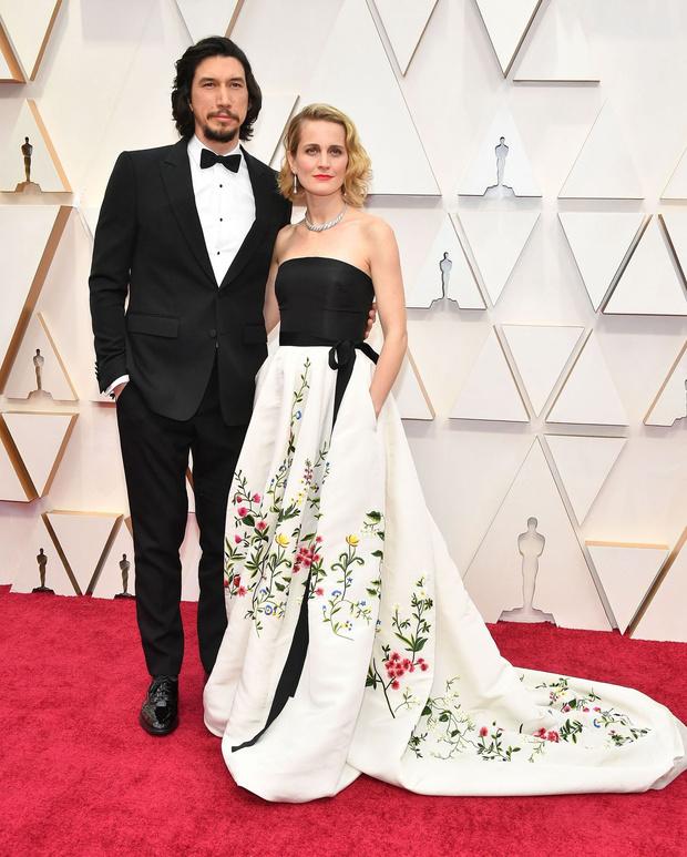 Самые эффектные звездные пары церемонии «Оскар-2020» (фото 9)