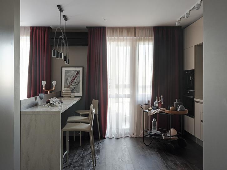 С чистого листа: квартира 45 м² на Озерной улице (фото 9)