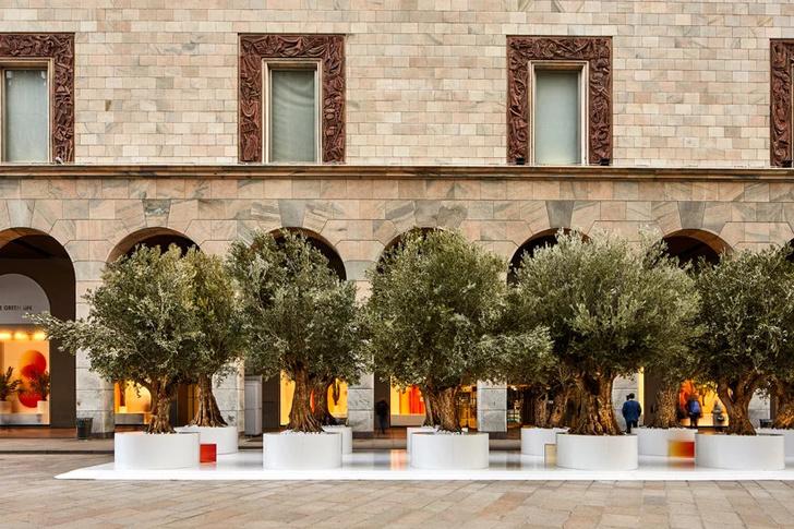 The Green Life: «зеленая» инсталляция Сабин Марселис для Rinascente (фото 4)