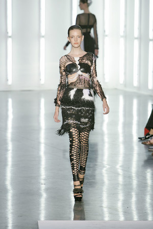 Показы мод Rodarte Весна-лето 2009 | Подиум на ELLE - Подиум - фото 3434