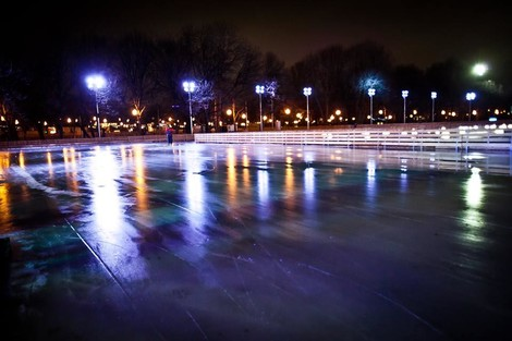 Открытие катка в Парке Горького | галерея [1] фото [10]