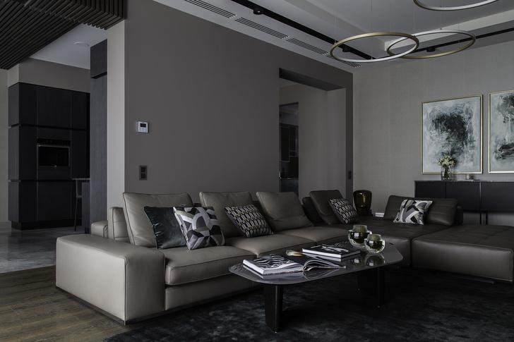 Сдержанная роскошь: дом 500 м² в Подмосковье (фото 3)