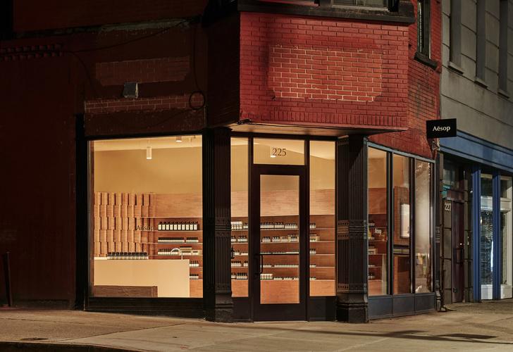 Минималистичный бутик Aesop в Бруклине (фото 7)
