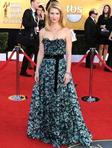 Клер Дэнс в платье Louis Vuitton