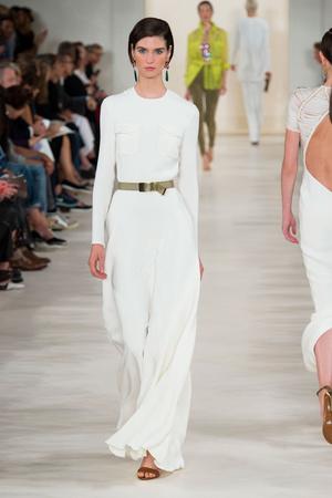 Показ Ralph Lauren коллекции сезона Весна-лето 2015 года prêt-à-porter - www.elle.ru - Подиум - фото 587154