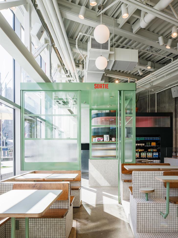 Маленькое дизайнерское кафе Melk в Монреале (фото 2)
