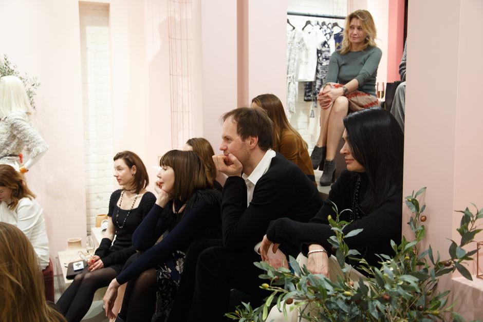 Вечеринка ELLE DECORATION в эфемерном бутике Chanel фото [49]