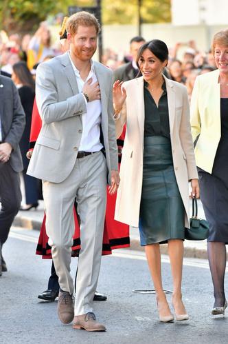 Принц Гарри и Меган Маркл прибыли в Чичестер с официальным визитом (фото 1.1)