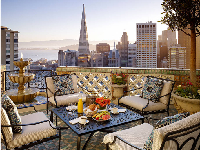 The Fairmont Hotel, Сан-Франциско, США