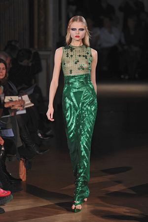 Показ Givenchy коллекции сезона Весна-лето 2010 года Haute couture - www.elle.ru - Подиум - фото 138528