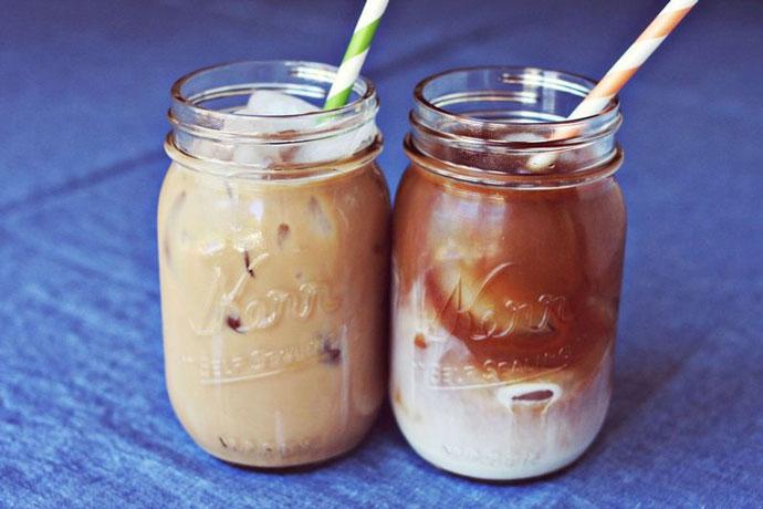 Американский кофе с имбирем и сливками