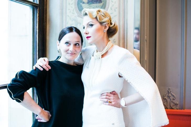 Елена Сотникова и Рената Литвинова
