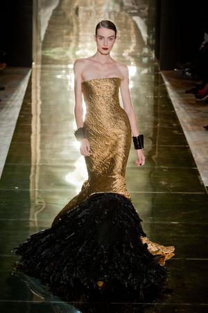 Показ Georges Chakra коллекции сезона Осень-зима 2012-2013 года Haute couture - www.elle.ru - Подиум - фото 403204