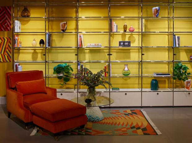 Интерьерный pop-up бутик House of Harth в Лондоне (фото 3)