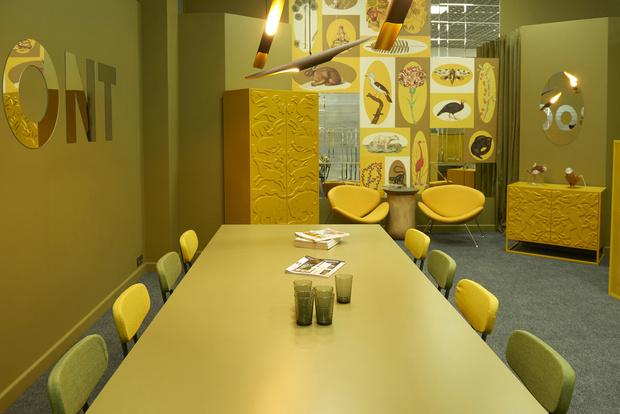 Любовь к цвету: офис интерьерной студии в Бресте (фото 6)