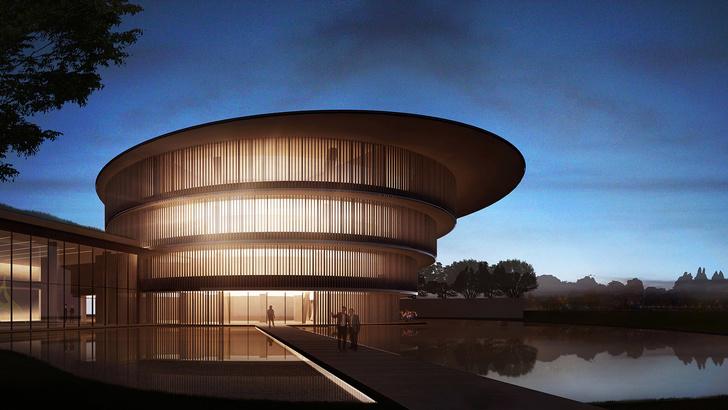 Проект музея в Китае по дизайну Тадао Андо (фото 0)